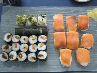久しぶりに寿司